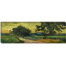 "<strong>iCanvasArt</strong> ""Landscape at Twilight"" Canvas Wall Art by Vincent Van Gogh"
