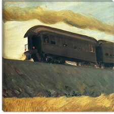 """Railroad Train, 1908"" Canvas Wall Art by Edward Hopper"