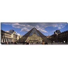 <strong>iCanvasArt</strong> Louvre Pyramid, Paris, France Canvas Wall Art