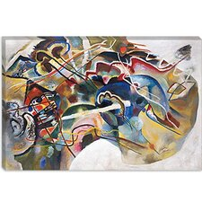 """Painting with White Border"" Canvas Wall Art by Wassily Kandinsky"