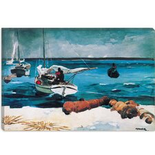 """Nassau 1899"" Canvas Wall Art by Winslow Homer"