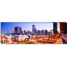 <strong>iCanvasArt</strong> Navy Pier Chicago IL Canvas Wall Art