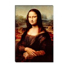 """Mona Lisa"" Canvas Wall Art by Leonardo Da Vinci"