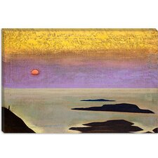 "<strong>iCanvasArt</strong> ""Monhegan"" Canvas Wall Art by Nicholas Roerich"