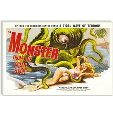 <strong>iCanvasArt</strong> Monster from the Ocean Floor Vintage Movie Poster