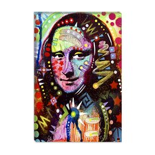 "<strong>iCanvasArt</strong> ""Mona Lisa"" Canvas Wall Art by Dean Russo"