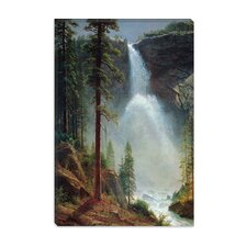 "<strong>iCanvasArt</strong> ""Nevada Falls"" Canvas Wall Art by Albert Bierstadt"