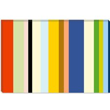 <strong>iCanvasArt</strong> New York Soho Striped Canvas Wall Art