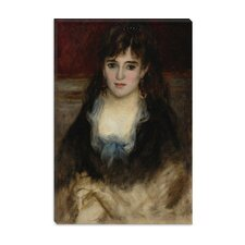 """Portrait De Nini 1874"" Canvas Wall Art by Auguste Renoir aka Pierre-Auguste Renoir"