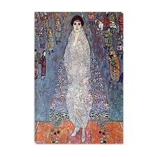 """Portrait of Baroness Elisabeth Bachofen"" Canvas Wall Art by Gustav Klimt"