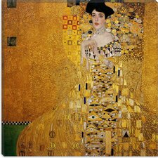 "<strong>iCanvasArt</strong> ""Portrait of Adele Bloch-Bauer I"" Canvas Wall Art by Gustav Klimt"