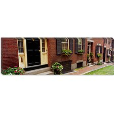 <strong>iCanvasArt</strong> Acorn Street, Beacon Hill, Boston Massachusetts Canvas Wall Art