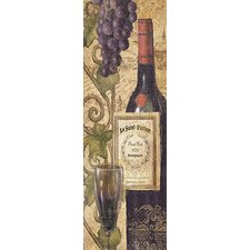 """Wine Tasting VI"" Canvas Wall Art by John Zaccheo"