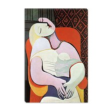 "<strong>iCanvasArt</strong> ""The Dream"" Canvas Wall Art by Pablo Picasso"