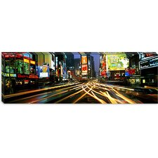 <strong>iCanvasArt</strong> Times Square New York Canvas Wall Art