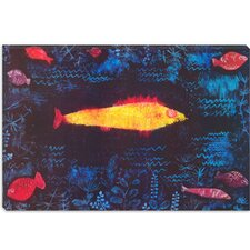 """The Golden Fish"" Canvas Wall Art by Paul Klee"