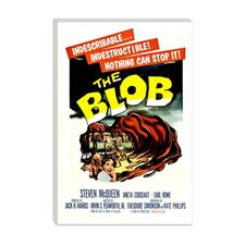 <strong>iCanvasArt</strong> The Blob Vintage Horror Movie Poster