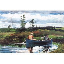 """The Blue Boat 1892"" Canvas Wall Art by Winslow Homer"