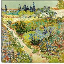 """The Garden at Arles"" Canvas Wall Art by Vincent Van Gogh"