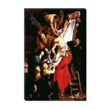 "<strong>iCanvasArt</strong> ""The Descent from the Cross, Central Panel of the Triptych"" Canvas Wall Art by Peter Paul Rubens"