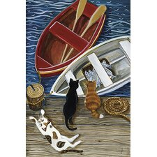 The Days Catch by Jan Panico Painting Print on Canvas
