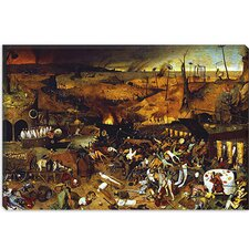 "<strong>iCanvasArt</strong> ""The Triumph of Death"" Canvas Wall Art by Pieter Bruegel"
