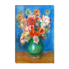"""Vase with Flowers"" Canvas Wall Art by Pierre-Auguste Renoir"