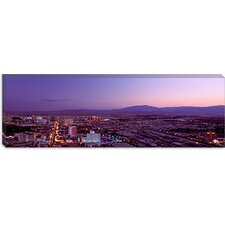 <strong>iCanvasArt</strong> Nevada, Las Vegas, Sunset Canvas Wall Art