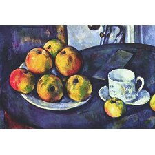 """Still Life with Apples"" Canvas Wall Art by Paul Cezanne"