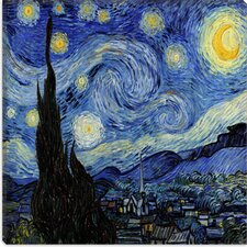 """The Starry Night"" Canvas Wall Art by Vincent Van Gogh"