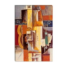 "<strong>iCanvasArt</strong> ""Violin and Guitar"" Canvas Wall Art by Pablo Picasso"