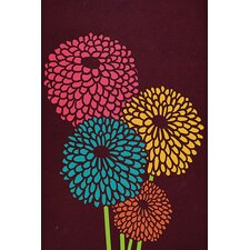 "<strong>iCanvasArt</strong> ""Still Life with Chrysanthemums"" Canvas Wall Art by Budi Satria Kwan"