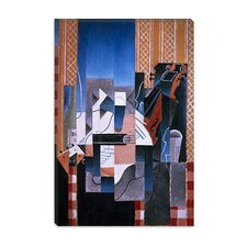 "<strong>iCanvasArt</strong> ""Violon et Guitare (Violin and Guitar)"" Canvas Wall Art by Juan Gris"