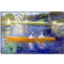 """The Seine at Asnieres"" Canvas Wall Art by Pierre-Auguste Renoir"