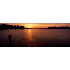 Sunrise over the Sea, Bermuda Canvas Wall Art