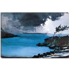 "<strong>iCanvasArt</strong> ""The Coming Storm 1901"" Canvas Wall Art by Winslow Homer"