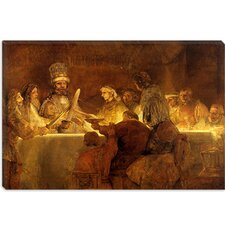 "<strong>iCanvasArt</strong> ""The Conspiracy of the Batavians under Claudius Civilis"" Canvas Wall Art by Rembrandt"