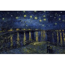 """Starry Night over the Rhone"" Canvas Wall Art by Vincent Van Gogh"