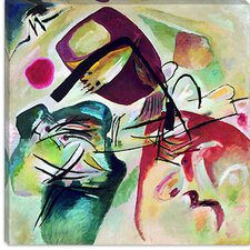"""With Black Arch"" Canvas Wall Art by Wassily Kandinsky"