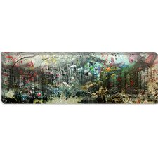 <strong>iCanvasArt</strong> Vancouver, Canada Skyline Panoramic #3 Canvas Wall Art