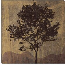 "<strong>iCanvasArt</strong> ""Tree"" Canvas Wall Art by Erin Clark"