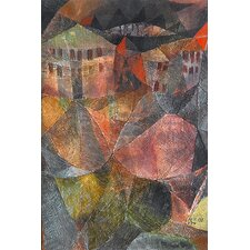 """The Hotel (Das Hotel)"" Canvas Wall Art by Paul Klee"