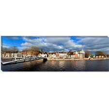 The Millenium Foot Bridge over the River Lee, Cork City, Ireland Canvas Wall Art