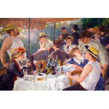 """The Luncheon of the Boating Party 1881"" Canvas Wall Art by Pierre-Auguste Renoir"