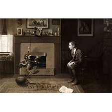 """The Magic Foorball"" Canvas Wall Art by Norman Rockwell"