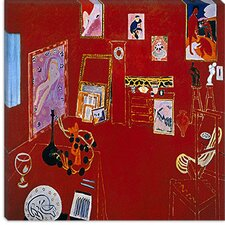 "<strong>iCanvasArt</strong> ""The Red Studio (1911)"" Canvas Wall Art by Henri Matisse"