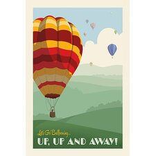"<strong>iCanvasArt</strong> ""SoN Hot Air Balloons"" Canvas Wall Art"