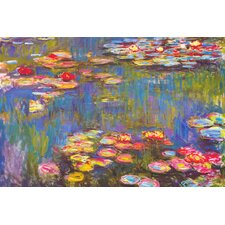 """Water Lilies, 1916"" Canvas Wall Art by Claude Monet"