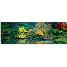 <strong>iCanvasArt</strong> The Japanese Garden Seattle Washington Canvas Wall Art