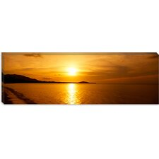 Sunset over the Sea, Ko Samui, Thailand Canvas Wall Art